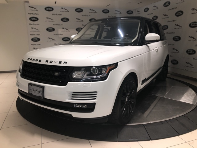 2016 Land Rover Range Rover 5.0L V8 Supercharged With Navigation & 4WD