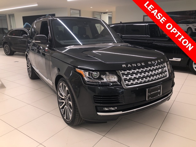 2016 Land Rover Range Rover 5.0L V8 Supercharged 4WD