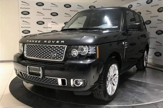 2012 Land Rover Range Rover Supercharged With Navigation & 4WD