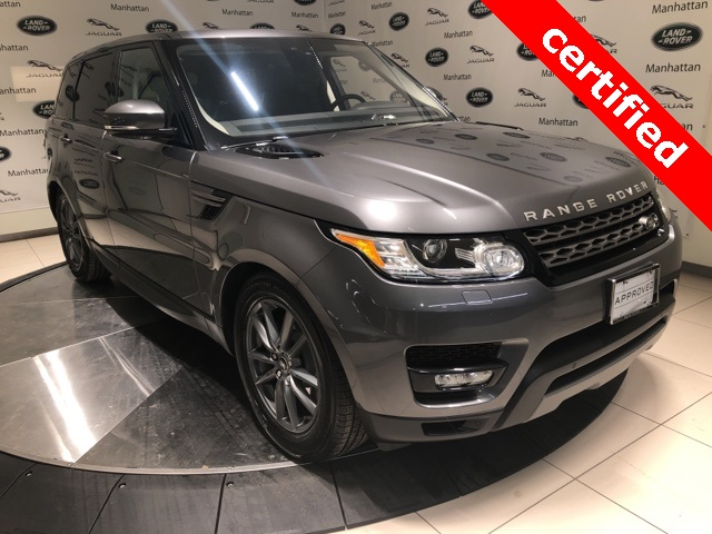 Certified Pre-Owned 2017 Land Rover Range Rover Sport 3.0L V6 Supercharged SE