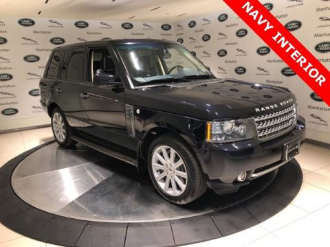 Pre-Owned 2010 Land Rover Range Rover Supercharged