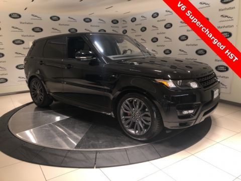 Certified Pre-Owned 2016 Land Rover Range Rover Sport 3.0L V6 Supercharged HST